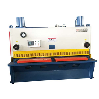12mm Lembar Plat Cutting Guillotine Shearing Machine