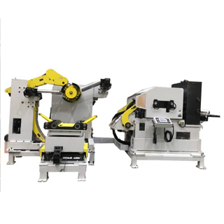 3 in 1 Coil Feeding Machine Termasuk Mesin Straighening Dan Decoiler